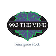 '99.3-The-Vine' from the web at 'http://napavalleymarathon.org/wp-content/uploads/99.3-The-Vine.png'